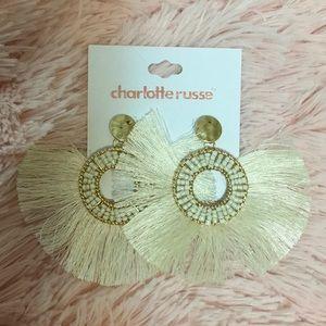 New beaded fringe earrings